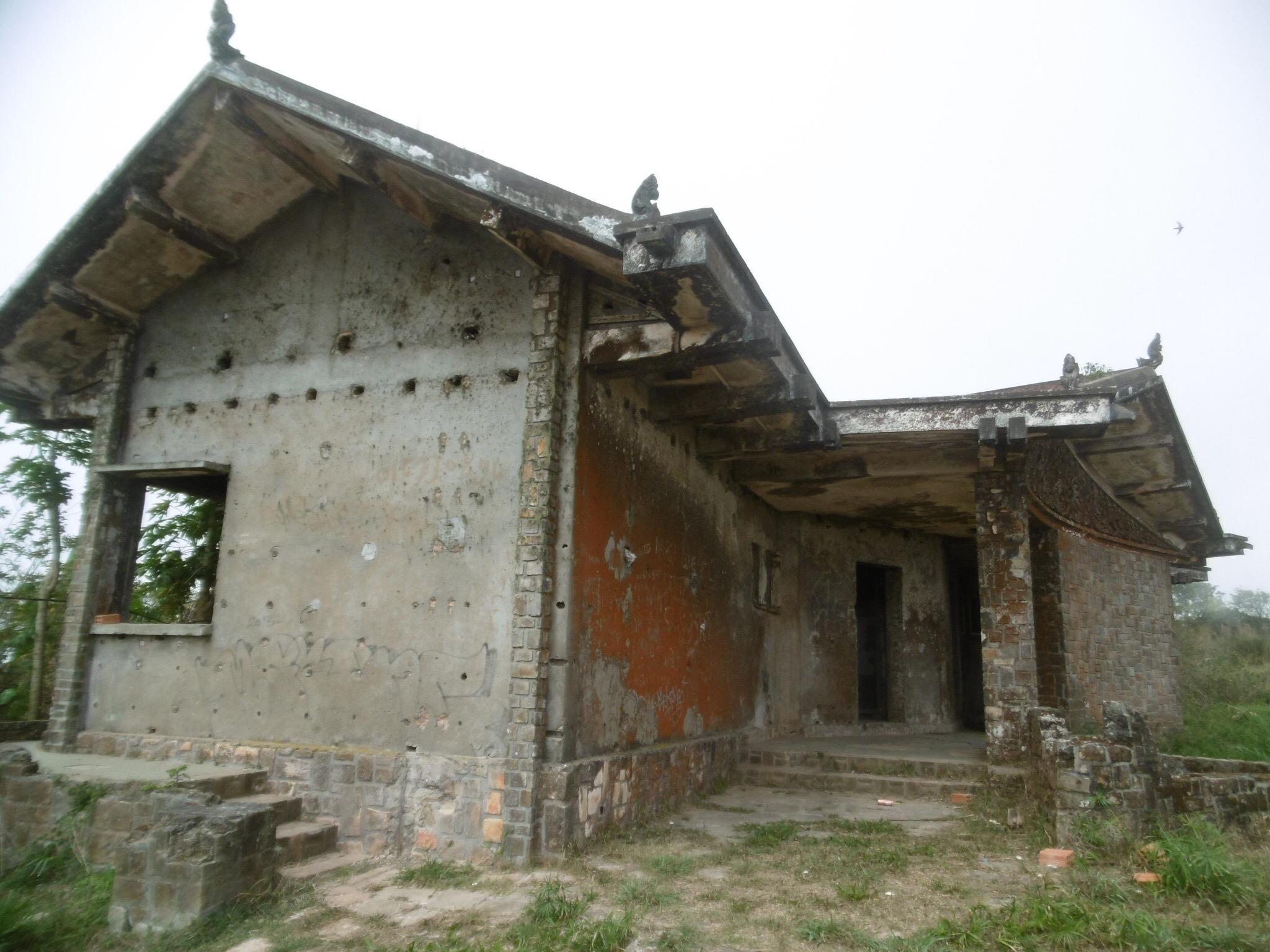 King Sihanouk's old summer house, Bokor National Park