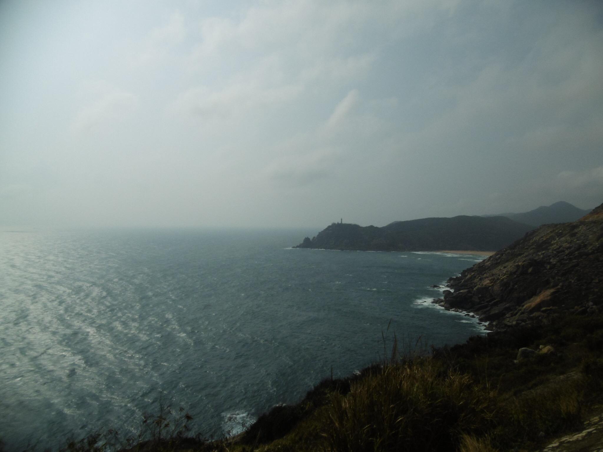 The coastline of South Vietnam
